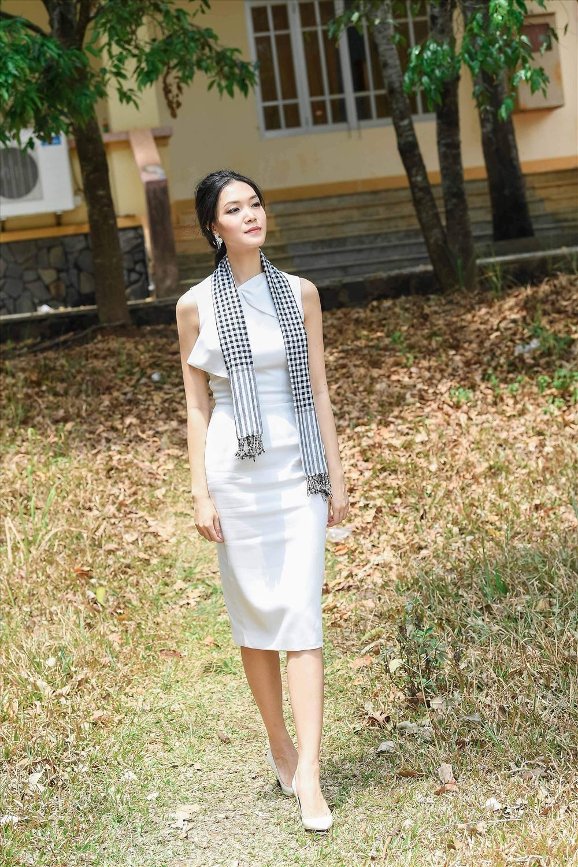 Hoa hậu Thuỳ Dung nhận nhiều lời khen ngợi về nhan sắc sau 10 năm đăng quang.