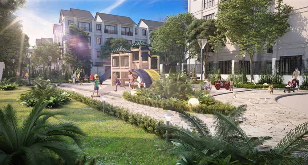 Chuẩn mực sống mới tại Dahlia Homes. Ảnh:NSM