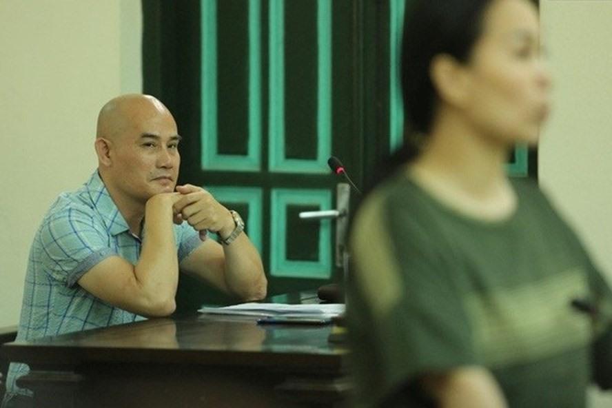 Bị hại Nguyễn Văn Thiện tại tòa.