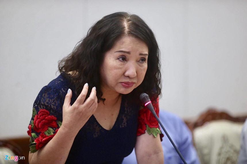 Bà Nguyễn Thị Như Loan, CEO Quốc Cường Gia Lai. Ảnh: Việt Đức.