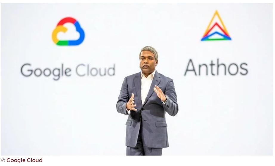 Giám đốc điều hành Google Cloud Thomas Kurian