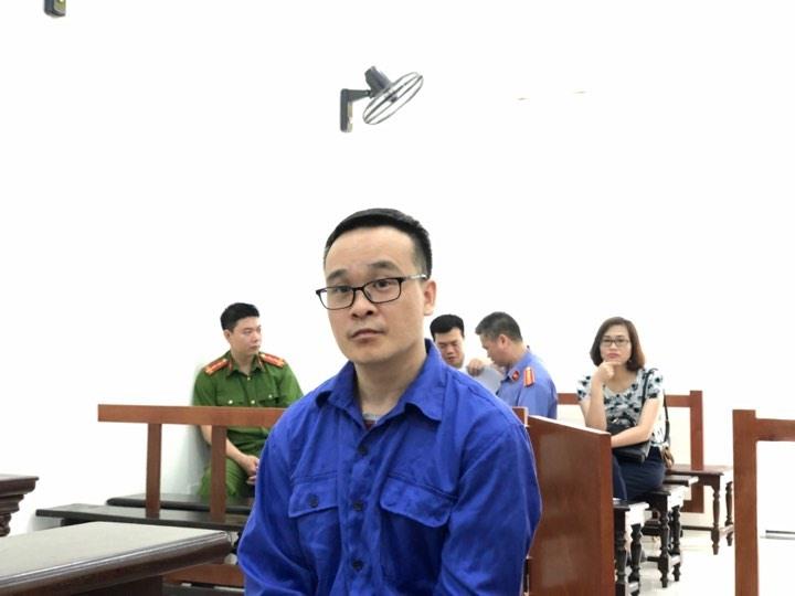 Bị cáo Thân Thái Phong.