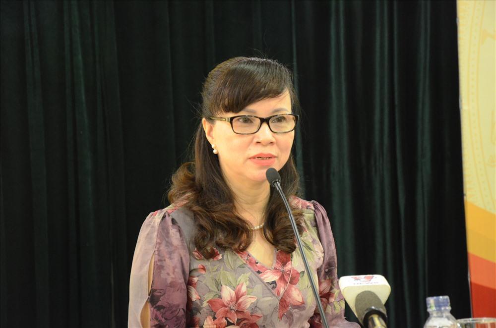 Bà Nguyễn Thị Kim Phụng - Vụ trưởng Vụ Giáo dục Đại học. Ảnh: Huyên Nguyễn