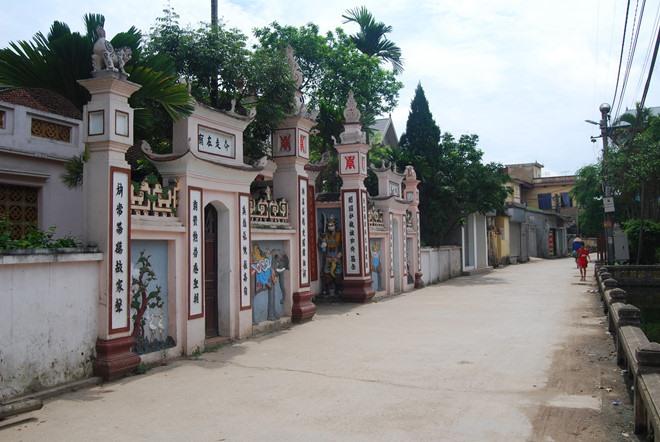 Làng Thượng Đình – Nhị Khê, nơi duy nhất còn làm bánh dày Quán Gánh.
