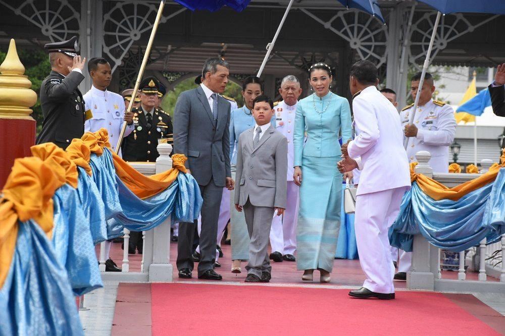 Theo Khaosod, từ năm 2013, bà Suthida đã phục vụ trong đơn vị cận vệ Ratchawanlop - đơn vị bảo vệ  vua Vajirusongkorn - khi đó là thái tử. Ảnh: Khaosod.