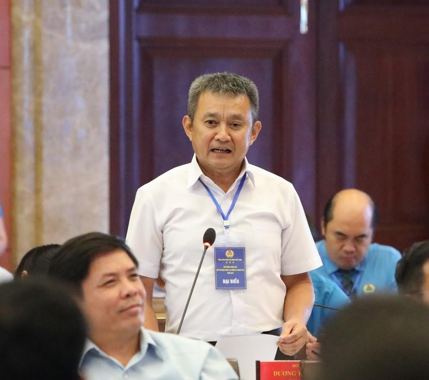Ông Dương Trí Thành – Tổng Giám đốc Tổng Công ty Hàng không Việt Nam. Ảnh: Trường Sơn