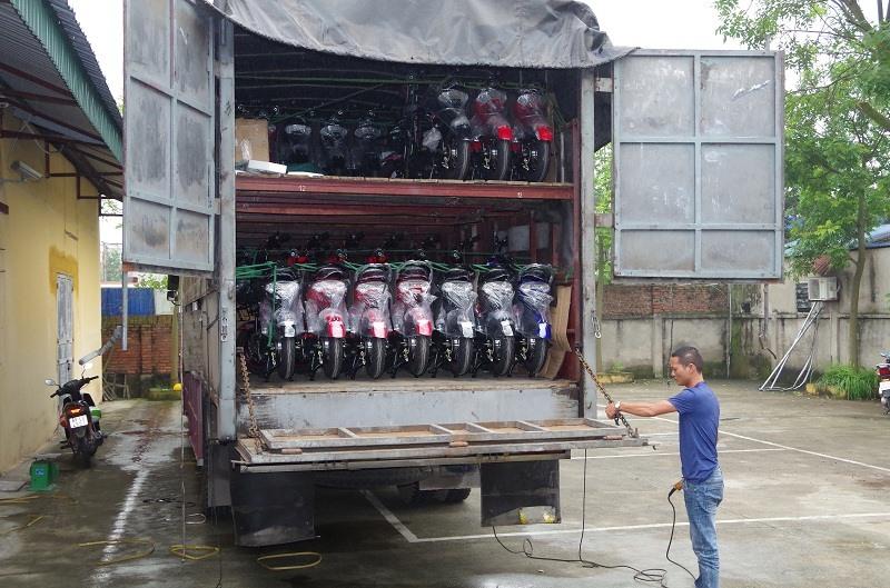 58 chiếc xe đạp điện không rõ nguồn gốc, xuất xứ.