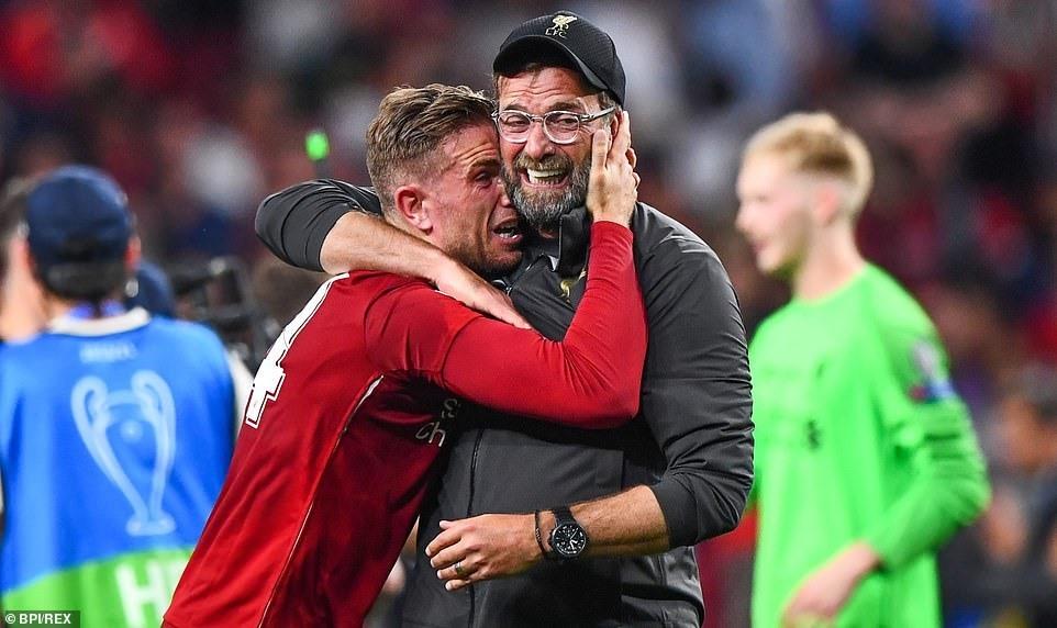 """Cuối cùng Klopp cũng được """"nếm quả ngọt"""" cùng Liverpool. Ảnh: UEFA."""