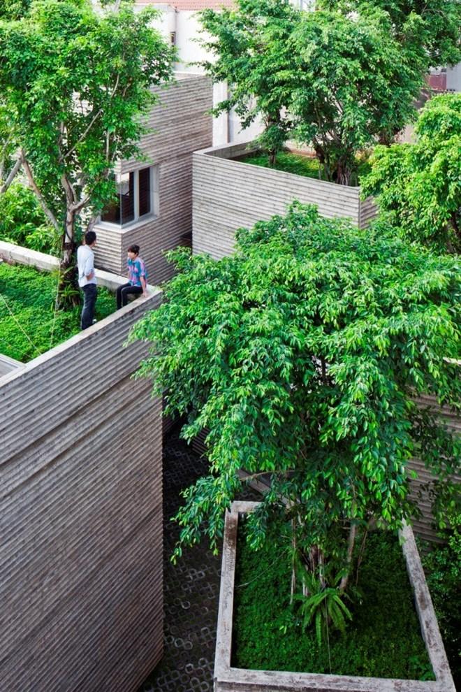 """""""Nhà 5 bồn cây"""" giành chiến thắng đầu tiên hạng mục nhà ở tại Festival Kiến trúc thế giới 2014"""