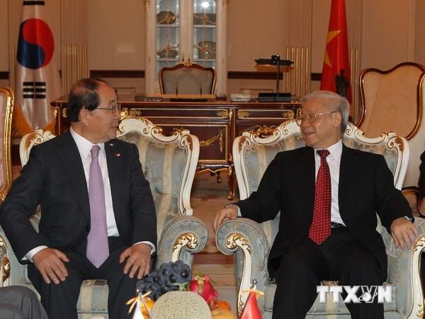 Tổng Bí thư Nguyễn Phú Trọng: *** Việt Nam-Hàn Quốc có rất nhiều sợi dây liên kết bền chặt
