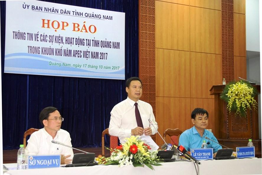 Đến hiện tại, mọi công tác chuẩn bị cho các sự kiện APEC 2017 diễn ra tại Quảng Nam đang dần hoàn tất. Ảnh: LP