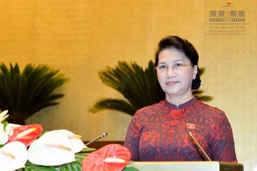 Chủ tịch Quốc hội Nguyễn Thị Kim Ngân (Ảnh: QH)