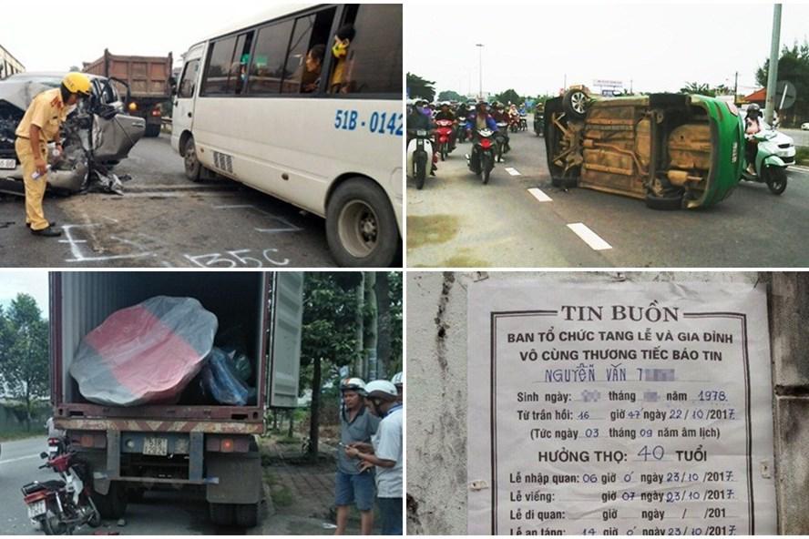 Bản tin tai nạn giao thông ngày 23.10.