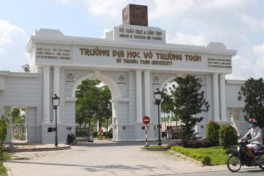 Trường ĐH Võ Trường Toản hiện đang nợ kinh phí CĐ hơn 540 triệu đồng.