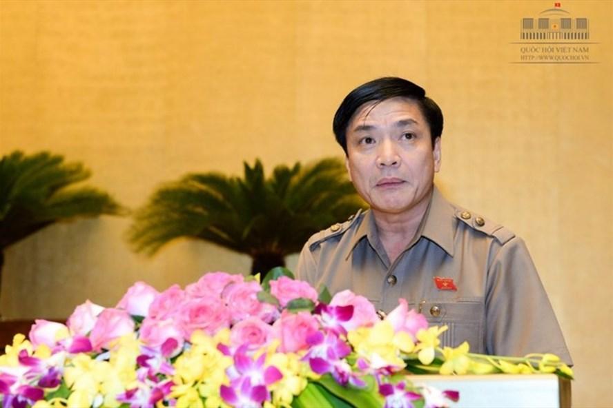 Chủ tịch Tổng Liên đoàn lao động Việt Nam Bùi Văn Cường  (Ảnh: QH)