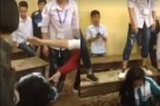 Bất ngờ trước nguyên nhân nữ sinh bị túm tóc, đạp vào đầu ở Yên Bái