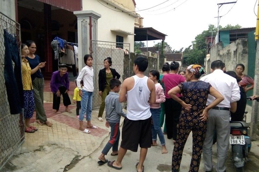"""Người dân thôn 4 xã Thiệu Dương, TP. Thanh Hoá bức xúc vì cách """"ăn"""" và """"chia"""" của ông bí thư chi bộ."""