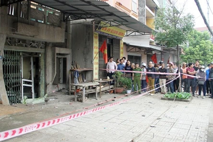 Nổ lớn khiến một người tử vong. Ảnh: Cổng thông tin điện tử TP Thái Nguyên