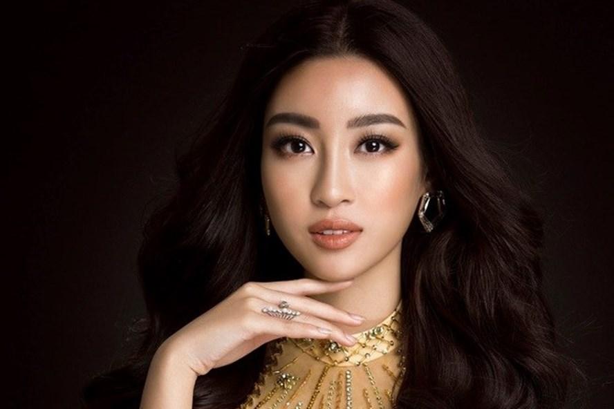 Hoa hậu Đỗ Mỹ Linh tại Miss World 2017.