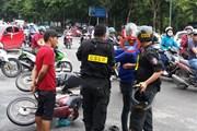 Nóng nhất Sài Gòn: Cảnh sát cơ động rượt đuổi 3km bắt nghi phạm cướp giật