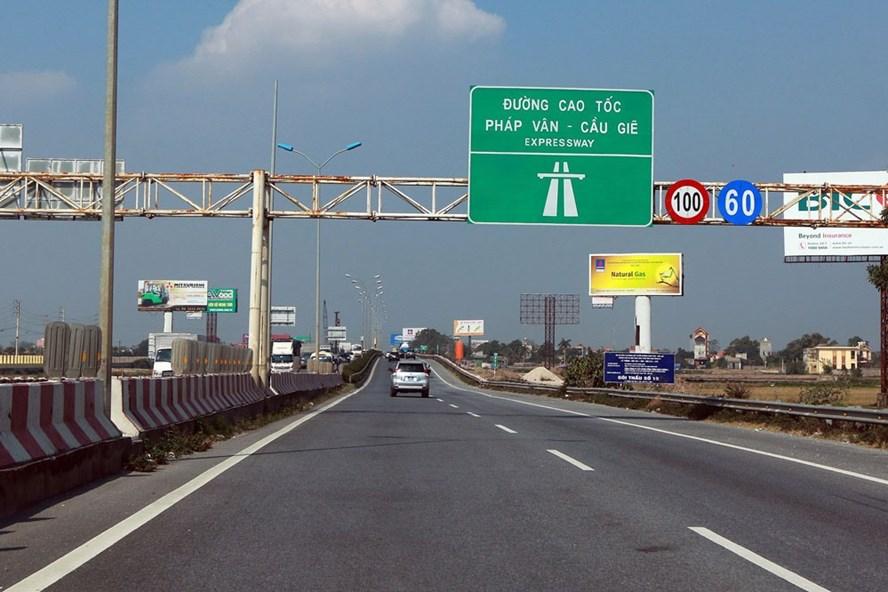Cao tốc Pháp Vân - Cầu Giẽ. Ảnh: HẢI NGUYỄN