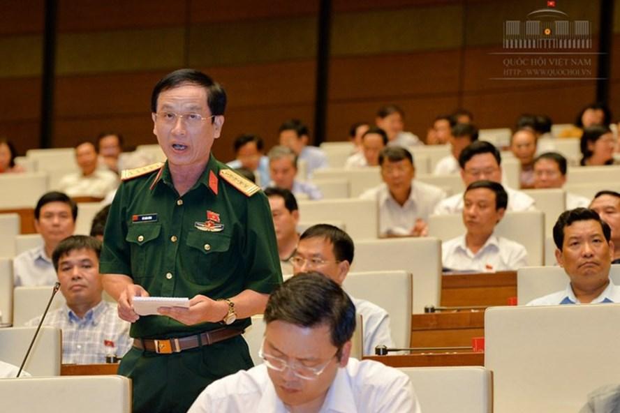 Đại biểu Vũ Xuân Hùng (Thanh Hóa). Ảnh: Q.H