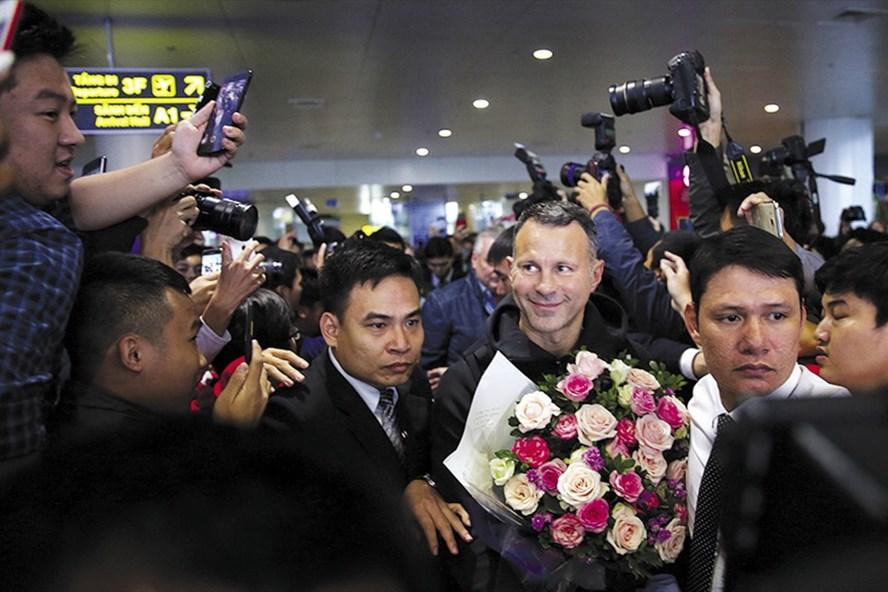 Ryan Giggs đến Việt Nam và chính thức nhậm chức Giám đốc Trung tâm PVF. Ảnh: HD