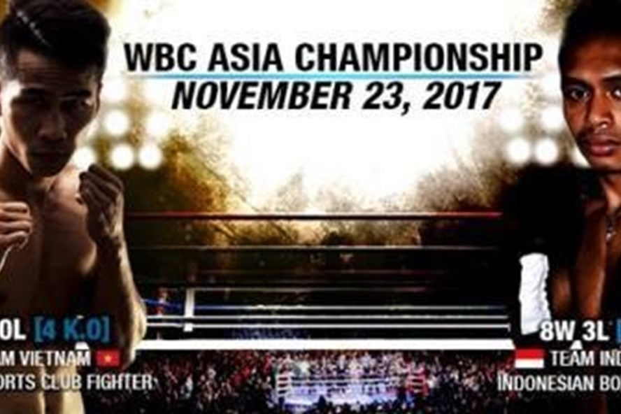 Trần Văn Thảo hạ knock-out đối thủ Indonesia ở trận tranh đai WBC châu Á