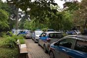 Không thoả thuận được quyền lợi, 300 lái xe taxi ngừng việc