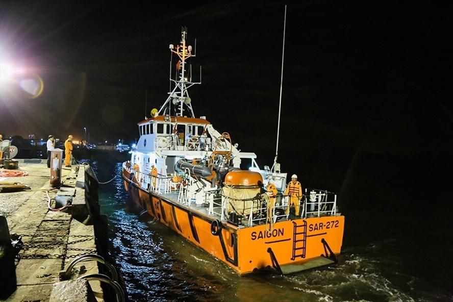 Tàu cứu nạn SAR 272. Ảnh DC