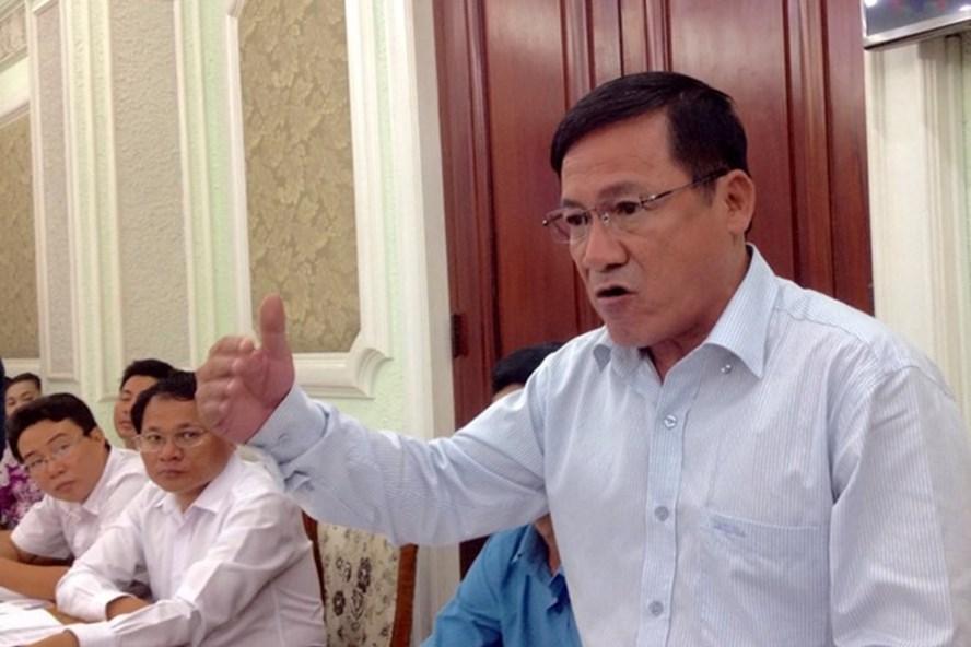 Ông Nguyễn Ngọc Công, Giám đốc Trung tâm điều hành Chương trình chống ngập nước TP.HCM. Ảnh: Zing.