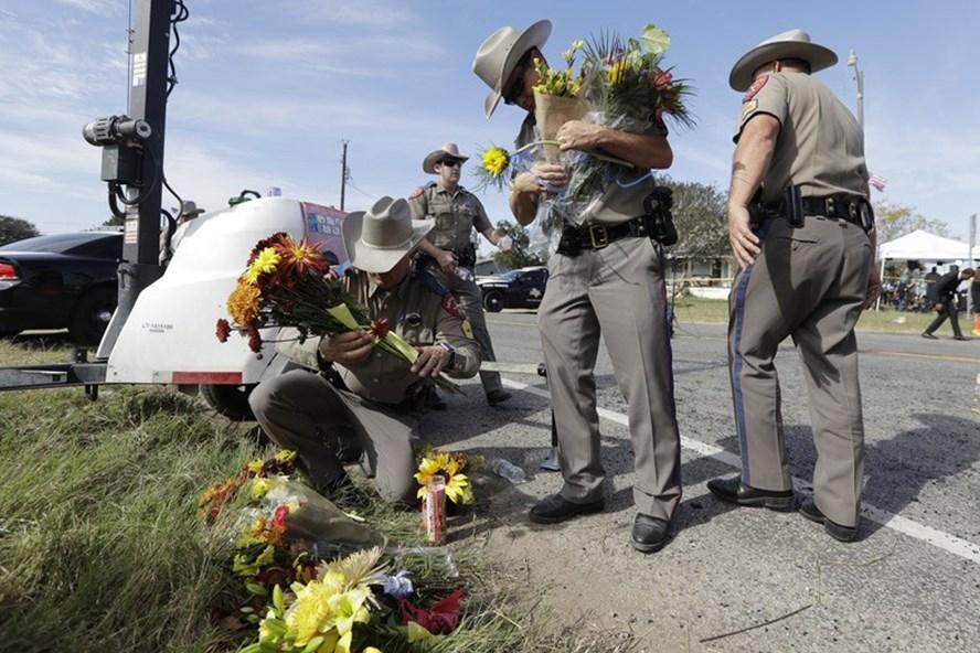 Hung thủ xả súng Texas đã nhắn tin đe dọa mẹ vợ trước khi gây án. Ảnh: S.T