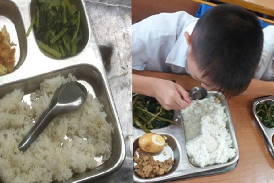 Nhiều phụ huynh thấp thỏm lo bữa ăn bán trú của con ở trường. Ảnh: Afamily
