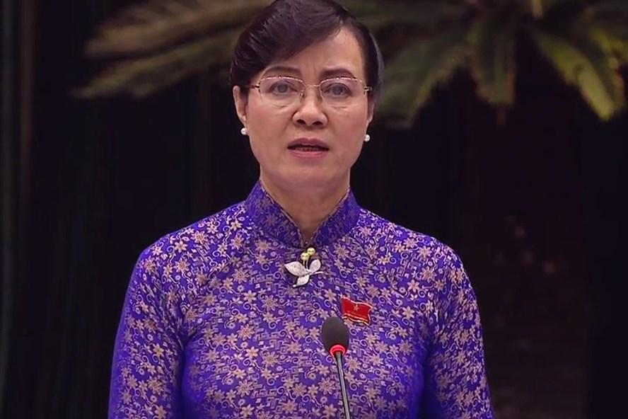 Chủ tịch HĐND Nguyễn Thị Quyết Tâm nói cơ quan chức năng khắp nơi nhưng bạo hành trẻ chỉ được phát hiện qua báo chí.  Ảnh: M.Q
