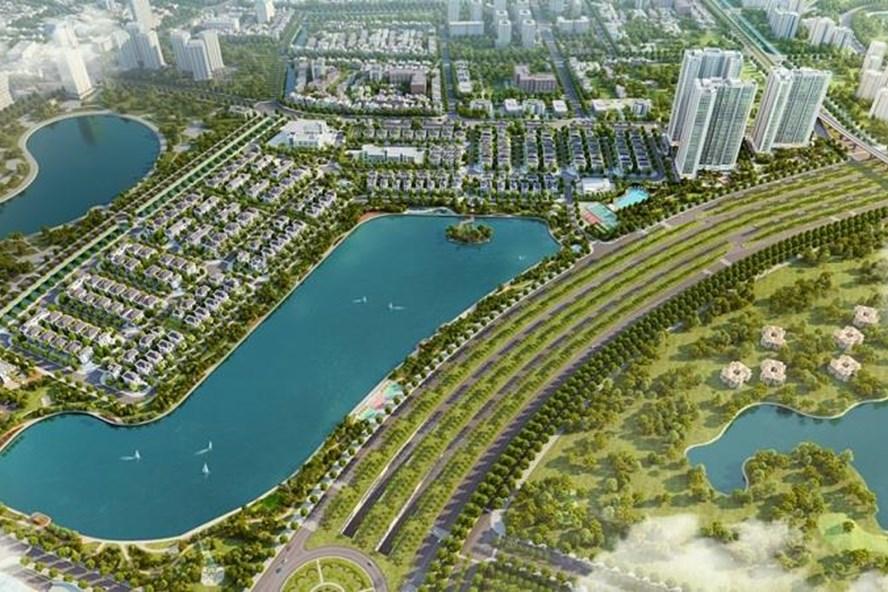 Khu đô thị Vinhomes Green Bay sở hữu vị trí đắc địa tại khu vực phía Tây thủ đô Hà Nội.