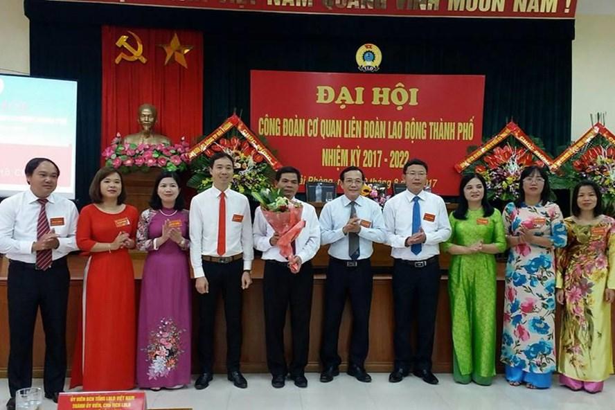 Ban chấp hành công đoàn cơ quan LĐLĐ Hải Phòng khoá 2017 - 2022 - ảnh Diệp Trương