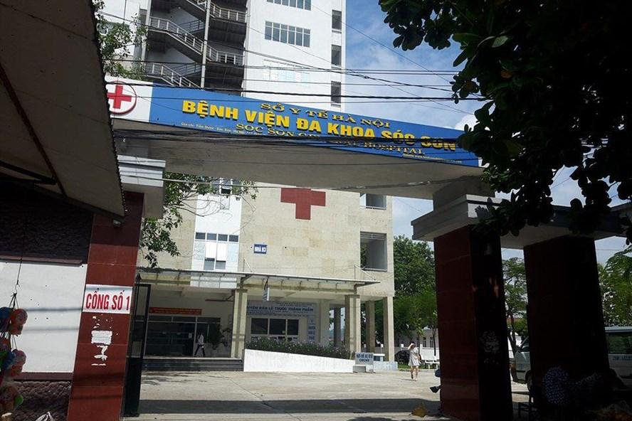 Bệnh viện đa khoa Sóc Sơn.