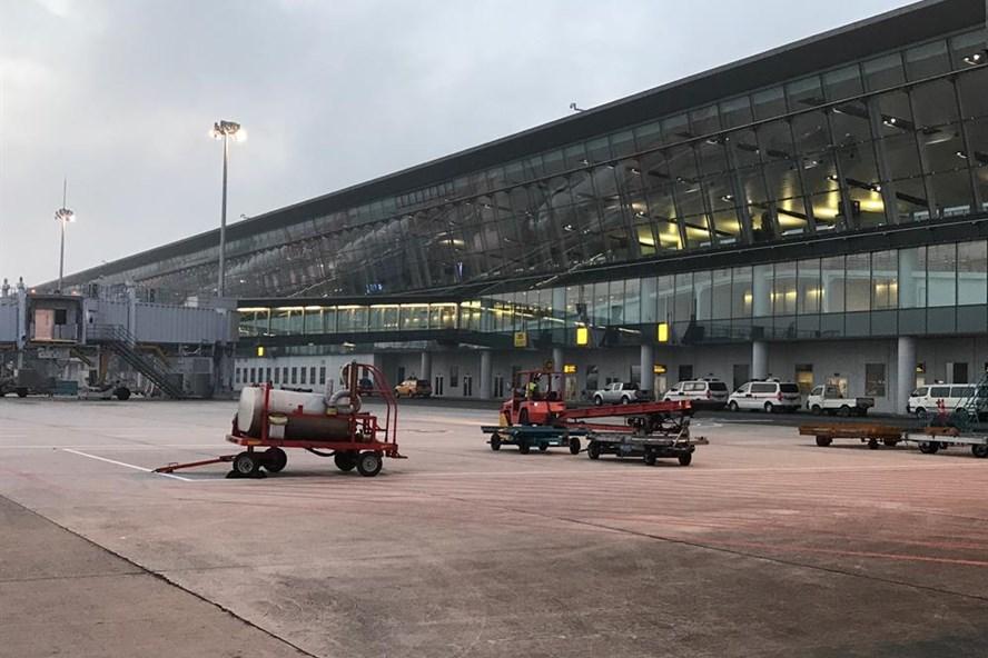Vụ tai nạn nghiêm trọng trong sân bay Nội Bài.