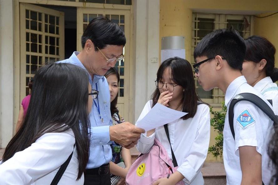 Kì thi THPT Quốc gia 2017 sẽ được giữ ổn định. Ảnh: Huyên Nguyễn