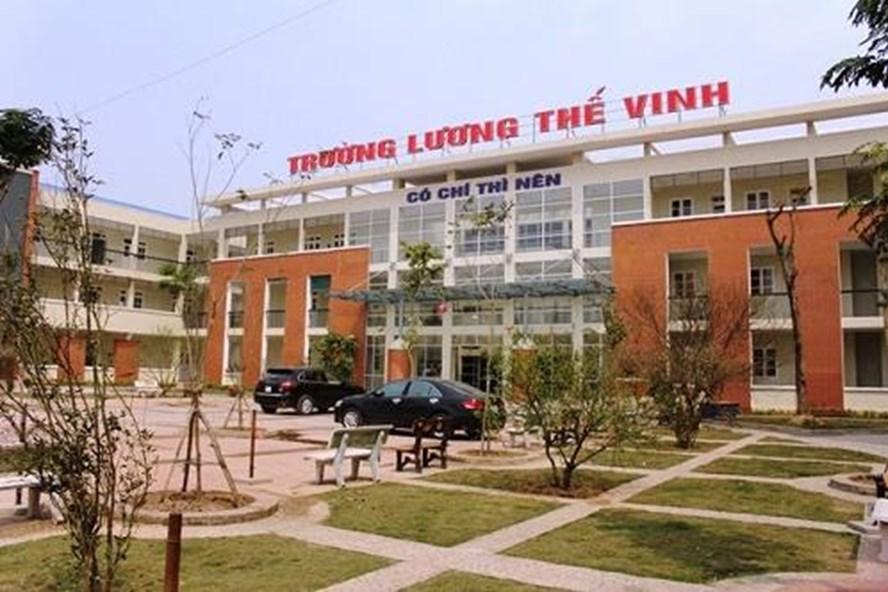 Trường THPT Lương Thế Vinh (Cầu Giấy, Hà Nội).