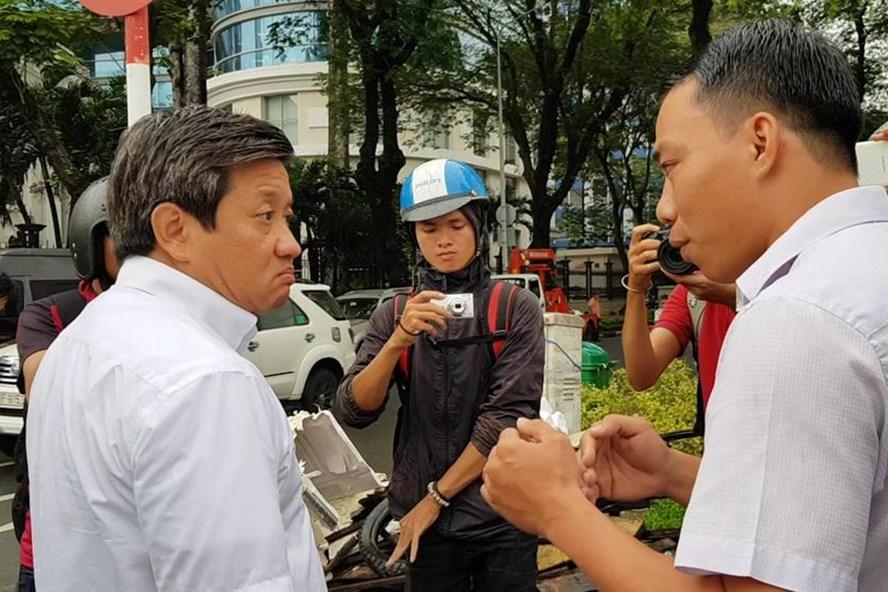 Trong cuộc tranh luận với 2 tài xế trên đường Võ Văn Kiệt, ông Hải đã dùng ý về rừng U Minh mà sống khiến dư dậy sóng. Ảnh: Trường Sơn