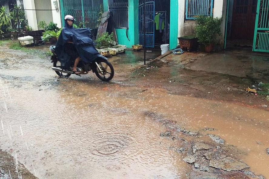 Hiện trạng dự án khu dân cư dệt Thống Nhất, TP.Biên Hòa, Đồng Nai - hiện nay. Ảnh: P.V