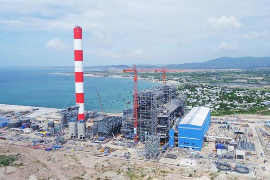Dự án Nhà máy Nhiệt điện Vĩnh Tân 1 gặp khó vì chưa tìm được vị trí nhận chìm vật chất nạo vét trong quá trình thi công. Ảnh: PV