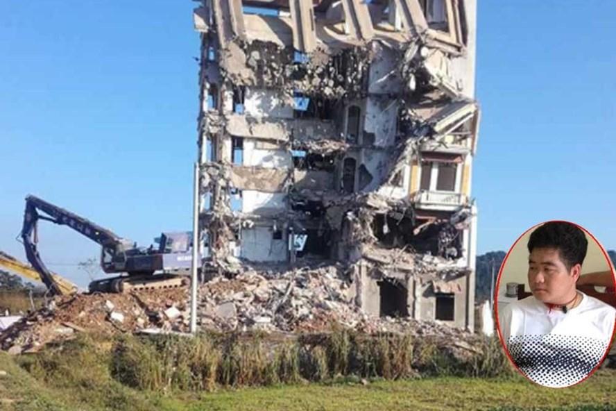 'Lâu đài ma túy' của Tàng Keangnam bị đánh sập hoàn toàn.