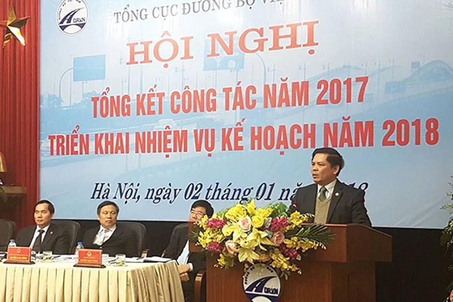 Bộ trưởng Nguyễn Văn Thể tại hội nghị. Ảnh: Vietnamnet.