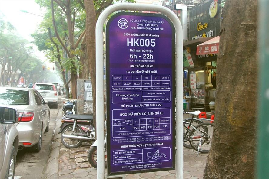 Theo quy định mới của UBND TP Hà Nội, các điểm trông xe ngoài trời được cấp phép đã đồng loạt thu tăng giá vé.
