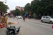 Hải Dương: Xe khách đâm xe máy, người đàn ông tử vong tại chỗ