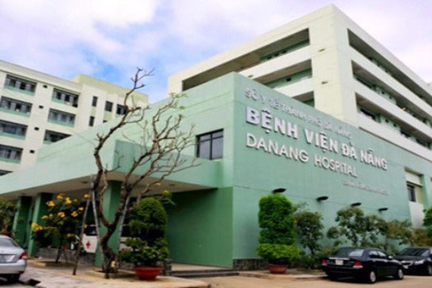 Khuôn viên Bệnh viện Đà Nẵng. Ảnh: Vneconomy.