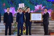 Công bố Nghị quyết thành lập thành phố Phúc Yên thuộc tỉnh Vĩnh Phúc