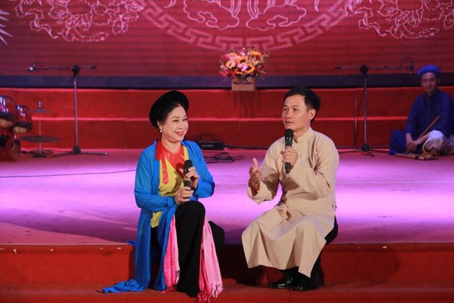 """Chương trình âm nhạc """"Tinh hoa nhạc Việt"""" số đầu tiên thu hút đông đảo sự quan tâm của khán giả. Ảnh: H.M"""